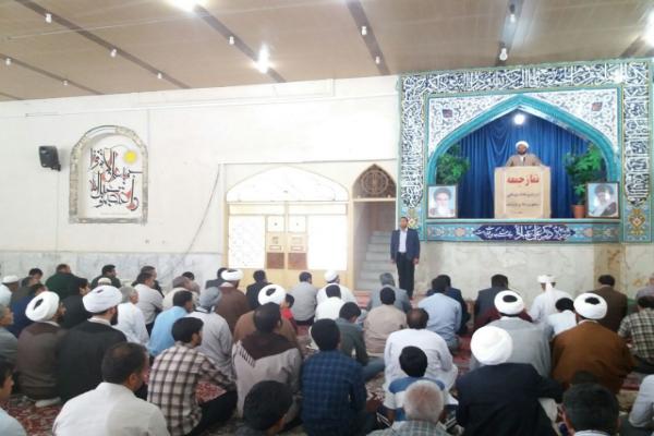 حجت الاسلام و المسلمین خدری امام جمعه زهک