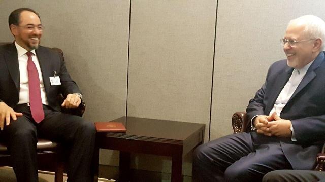 دیدار وزیر امورخارجه ایران و افغانستان