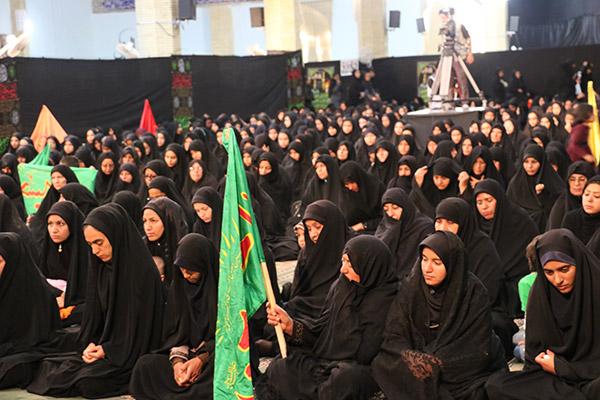 """تجمع بزرگ """" رهروان زینبی """" در زابل"""