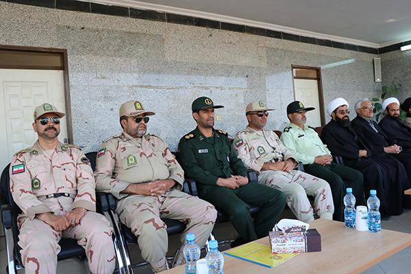 صیحگاه مشترک نیروهای مسلح شهرستان زابل