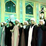 تجمع طلاب دارالولایه سیستان در اعتراض به سخنان ضد ایرانی ترامپ