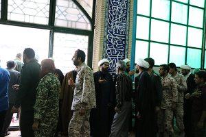 برگزاری مراسم ترحیم والده شهید عبدالله کیخا و امام جمعه شهرستان زابل